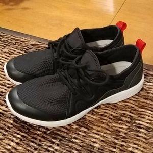 Vionic sky storm black active sneaker shoe